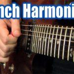 เทคนิคการกัดปิ๊กกีตาร์ (Pinch Harmonic )
