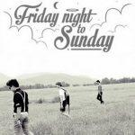 คอร์ดเพลง ห้องนอน - Fridaynight to Sunday